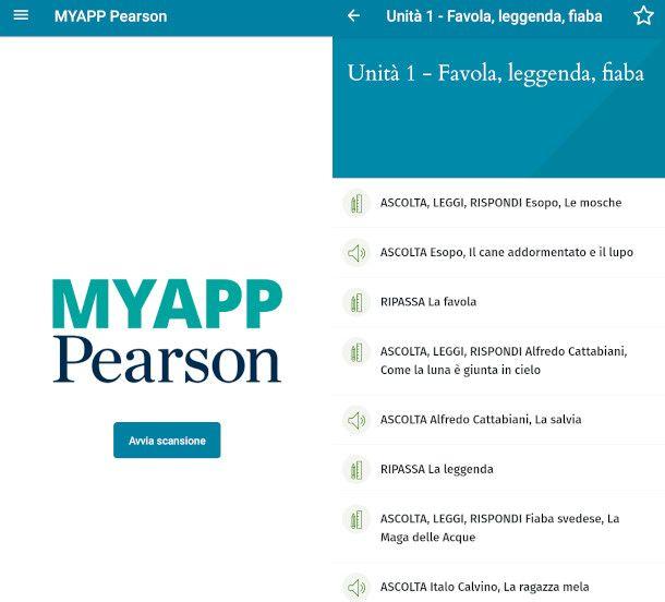 app pearson scansione qr code