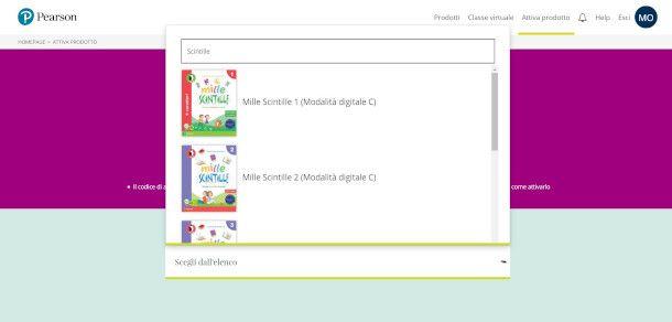 attivazione libro digitale Pearson scuola primaria