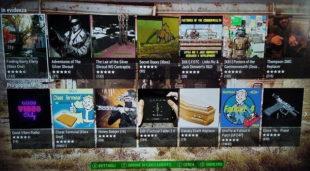Negozio Mod interno Fallout 4