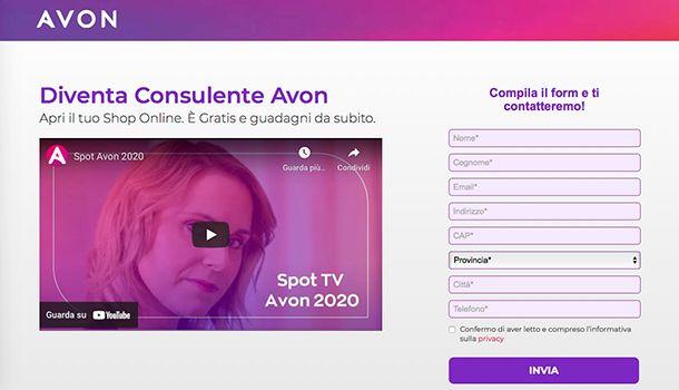 Come funziona il network marketing Avon