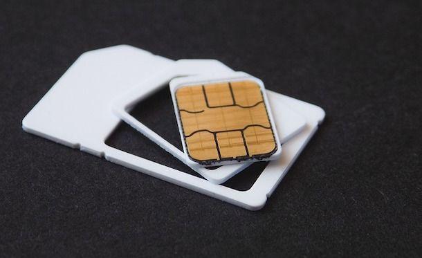 Sbloccare la SIM