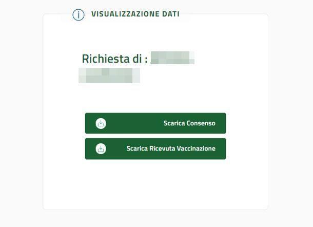come scaricare il certificato vaccinale Regione Campania