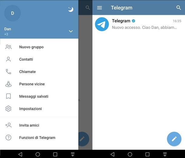 Nozioni di base sui bot di Telegram