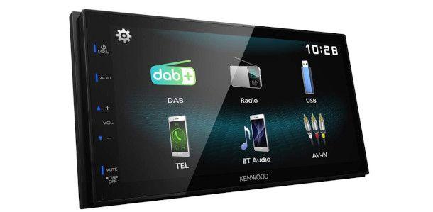display autoradio DAB