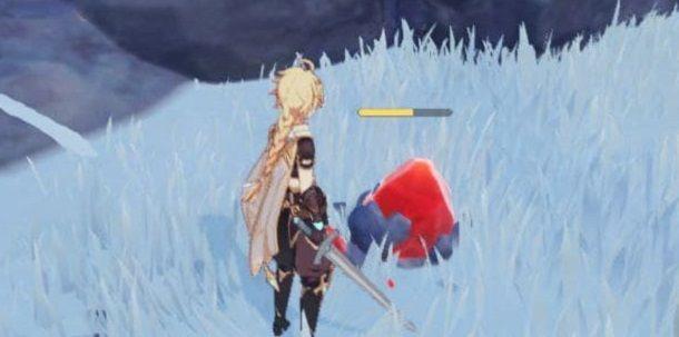 Strano ghiaccio strange ice Genshin Impact