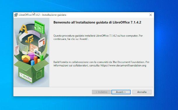 Installazione di LibreOffice Impress