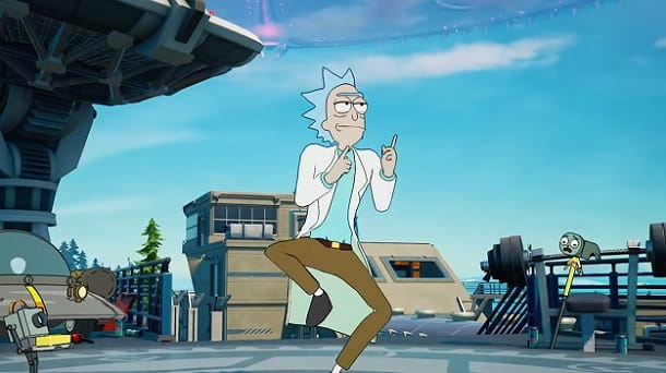 Rick Sanchez Rick and Morty Fortnite