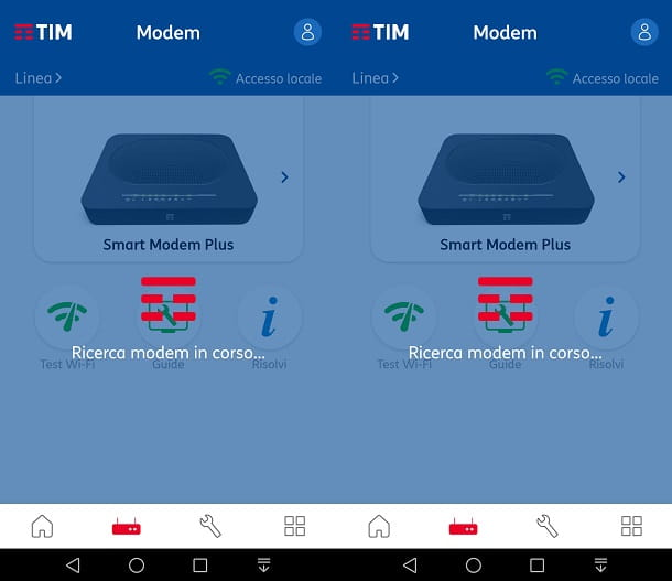 Aggiornare modem TIM tramite app