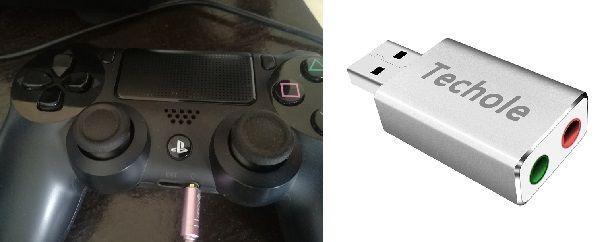 Procedura per usare le cuffie insieme al volante per PS4