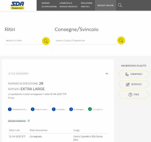 Tracking SDA