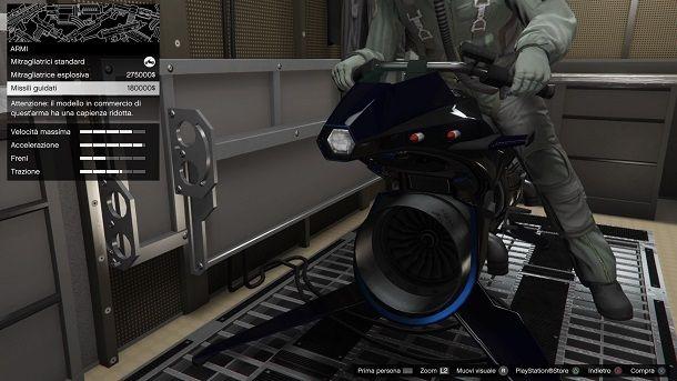 Come moddare Oppressor MK II GTA Online