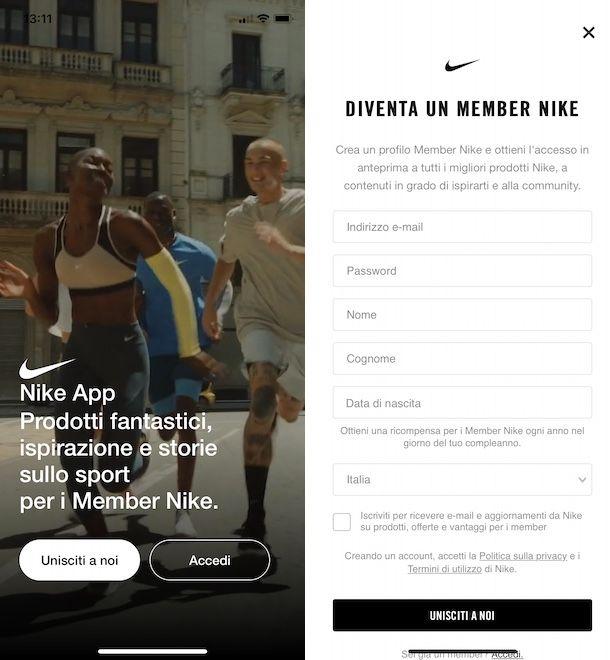 App Nike