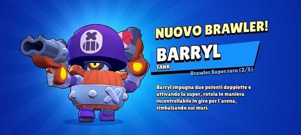 Barryl Brawl Stars