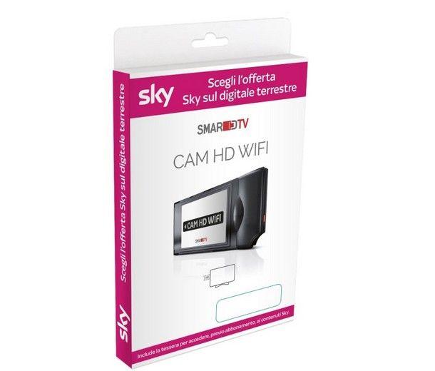 Come inserire Smart Card Sky nella CAM