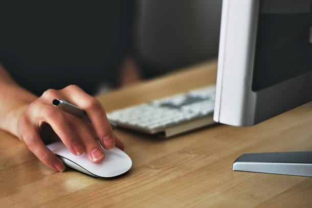 Scrivere email al PC