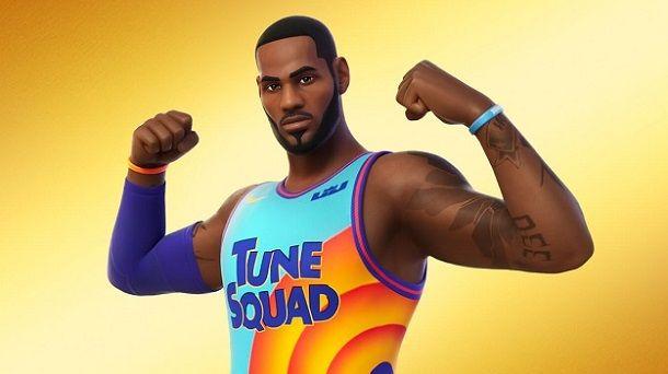 LeBron James Fortnite Tune Squad Space Jam 2