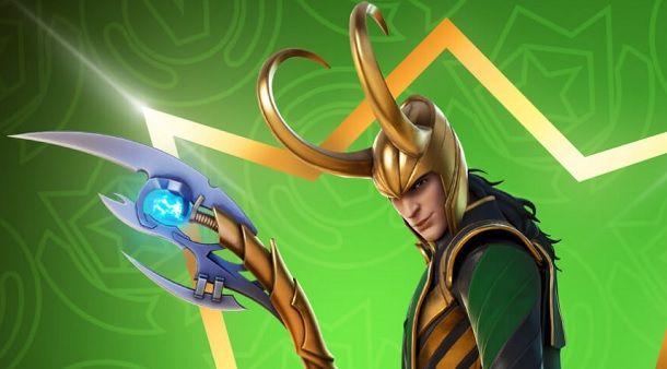 Fortnite Crew skin Loki luglio 2021