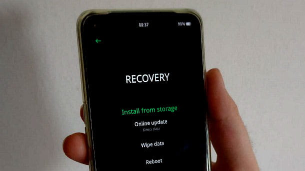 Recovery ColorOS OPPO