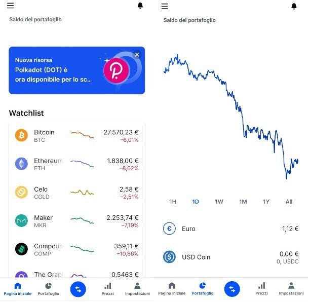 Wallet crypto Coinbase