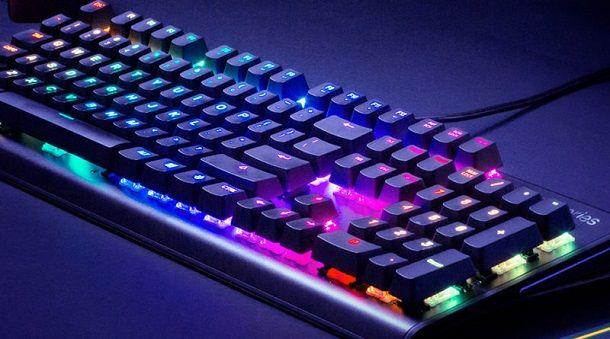 Caratteristiche della tastiera gaming