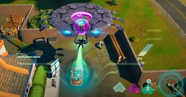 UFO Fortnite Stagione 7 Capitolo 2