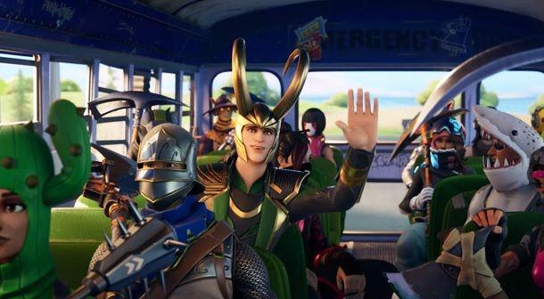 Come usare la skin di Loki su Fortnite