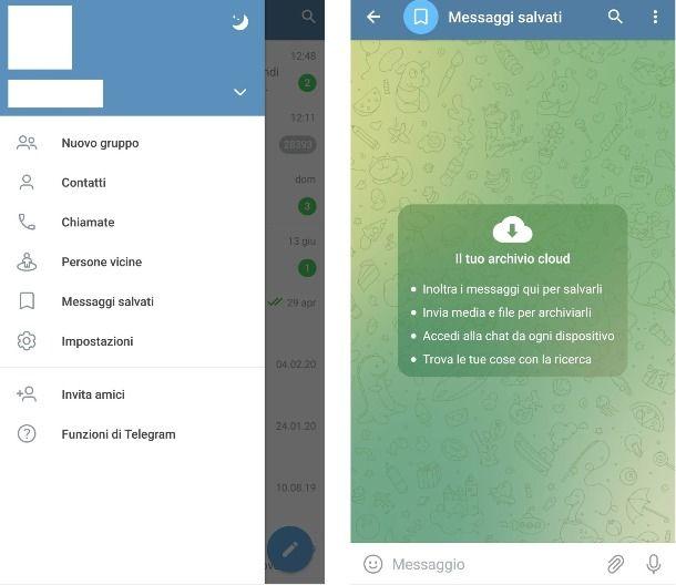 Trasferimento file con Telegram