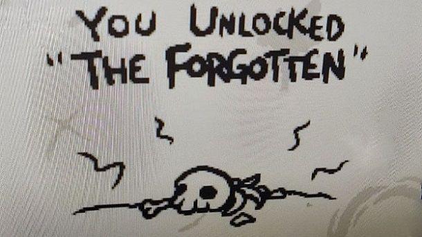 You Unlocked The Forgotten
