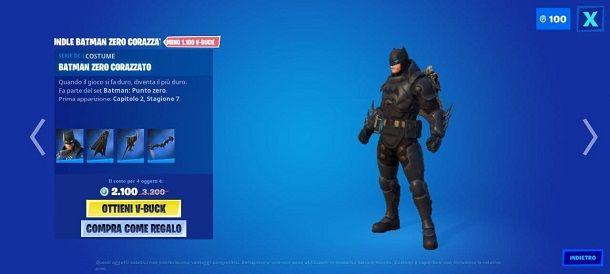 Come sbloccare Batman Zero Corazzato su Fortnite