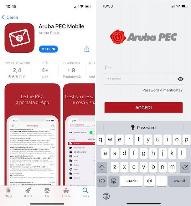 PEC Aruba Mobile