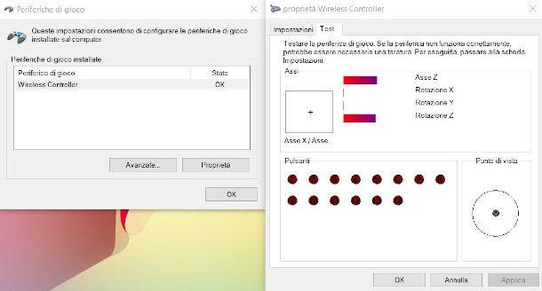 test controller PS4 Windows 10