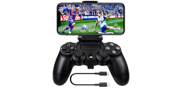 controller PS4 e smartphone
