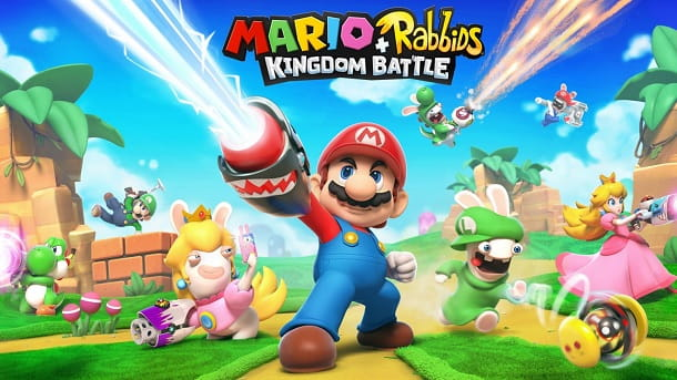 Mario Rabbids Kingdom Battle Ubisoft Milano