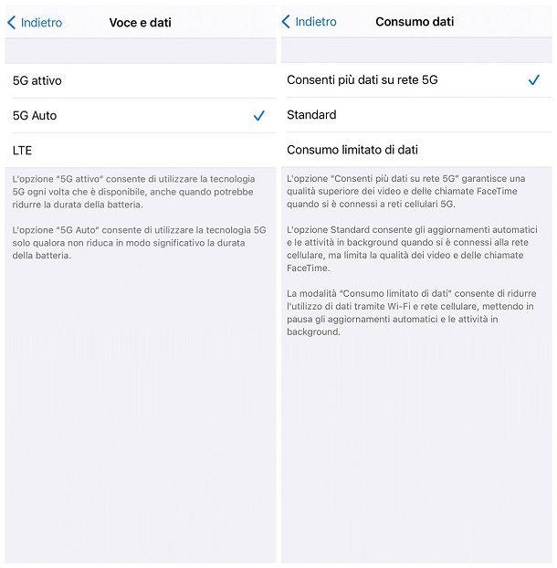 Come attivare il 5G su iPhone