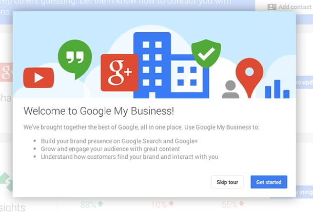 come funziona google my business