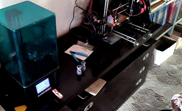 Stampanti 3D resina filamento