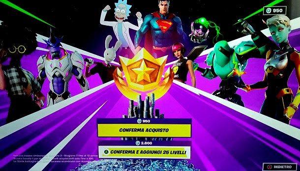 Pass Battaglia Stagione 7 Capitolo 2 Fortnite Superman