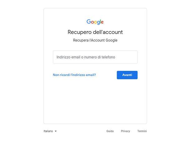 Risolvere problemi con l'account Google