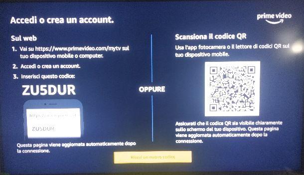 Come associare Sky Q all'account Amazon Prime