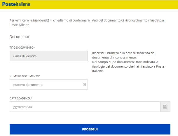 Come richiedere lo SPID Poste Italiane