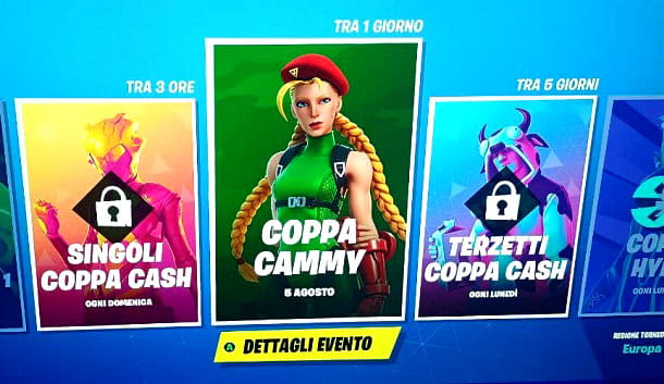 Coppa Cammy Street Fighter Fortnite