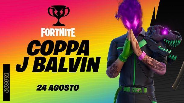 Coppa J Balvin Fortnite