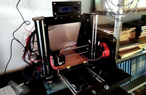 Come usare stampante 3D filamento Prusa i3 Pro B