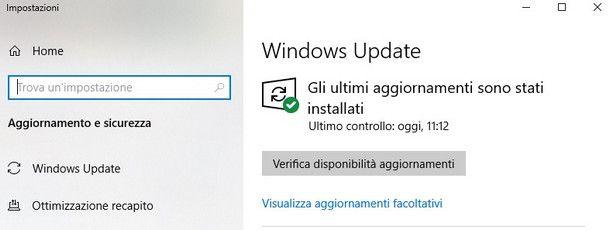Proseguire con l'aggiornamento gratuito a Windows 11