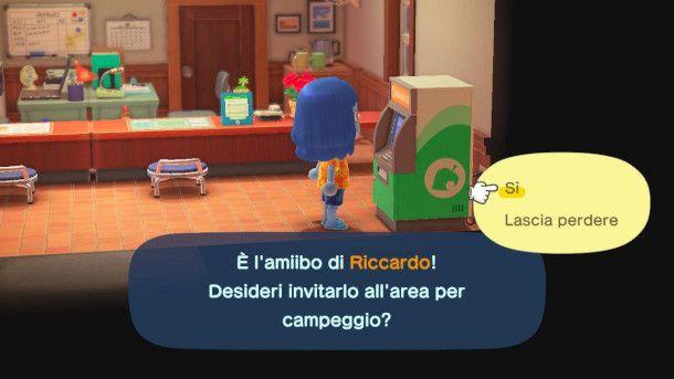 Funzionamento Amiibo in Animal Crossing: New Horizon