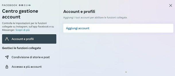 Centro Gestione Account