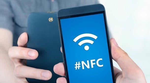 Abilitare l'NFC