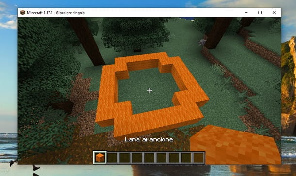 Blocchi angoli Minecraft