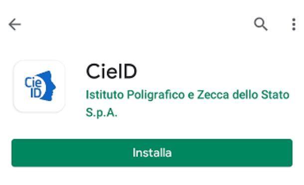 Scaricare app CieID