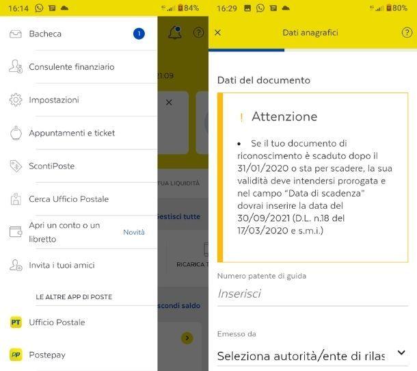 Attivazione Libretto Smart in app